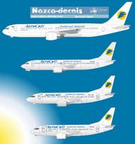 1/144 Scale Decal AeroSvit 737-400