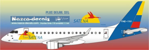 1/144 Scale Decal Satena Emberair 170