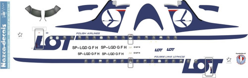 1/144 Scale Decal LOT ERJ-145