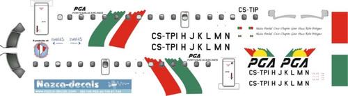 1/144 Scale Decal PGA ERJ-145