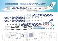 1/144 Scale Decal Adria Airways CRJ-700 / 900