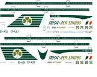 1/144 Scale Decal Aer Lingus 747-200 Delivery