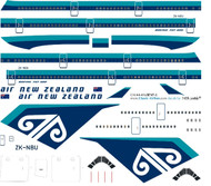 1/144 Scale Decal Air New Zealand 747-400