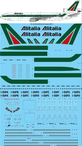 1/144 Scale Decal Alitalia McDonnell Douglas MD-11