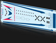 1/144 Scale Decal Allegehny F-27 Factory Livery