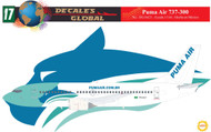 1/144 Scale Decal Puma Air 737-300