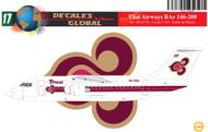 1/144 Scale Decal Thai Airways BAe 146-200