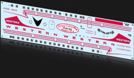 1/144 Scale Decal Western DC-6