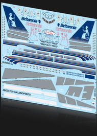 1/144 Scale Decal Britannia 757