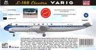 1/144 Scale Decal Varig Electra
