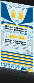 1/144 Scale Decal British Caladonian 707