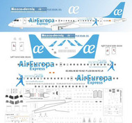 1/144 Scale Decal Air Europa E-190