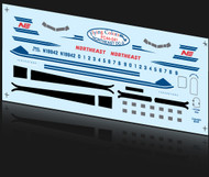 1/144 Scale Decal Northeast DC-3
