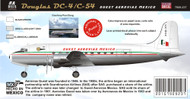 1/144 Scale Decal Guest Aerovias DC-4