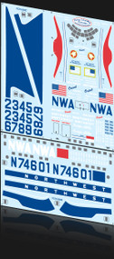 1/72 Scale Decal Northwest Stratocruiser