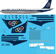 1/72 Scale Decal Olympic Airways 707-320C