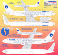 1/200 Scale Decal Sabena 767-300