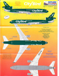 1/200 Scale Decal City Bird MD-11