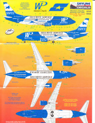 1/200 Scale Decal Security Service FCU 737-300
