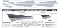1/200 Scale Decal 727-200 Coroguard