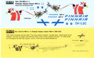 1/200 Scale Decal Finnair MD-11 Sana Claus