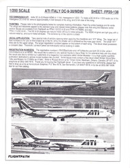 1/200 Scale Decal ATI DC9-30 / MD-80
