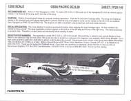 1/200 Scale Decal Cebu Pacific DC9-30