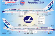 1/144 Scale Decal Eastern 757-200