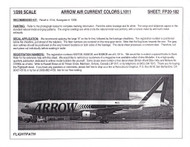 1/200 Scale Decal Arrow Air L-1011