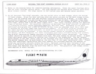 1/200 Scale Decal National Airlines DC8-61