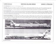 1/200 Scale Decal British Island Airways MD-80