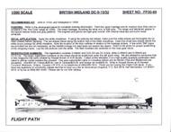 1/200 Scale Decal British Midland DC9-15 / 32
