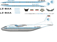 1/144 Scale Decal Bulair AN-12