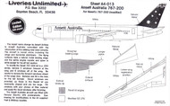 1/144 Scale Decal Ansett Australia 767-200