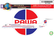 1/144 Scale Decal PAWA DC9-30