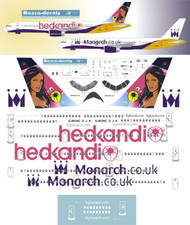 1/144 Scale Decal Monarch 757-200 Classic