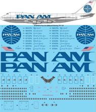 1/144 Scale Decal Pan Am 747-100 BILLBOARD