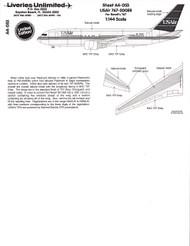 1/144 Scale Decal USAir 767-200ER