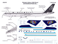 1/200 Scale Decal Olympic A-300