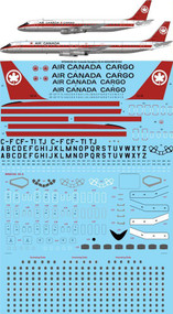 1/144 Scale Decal Air Canada DC-8