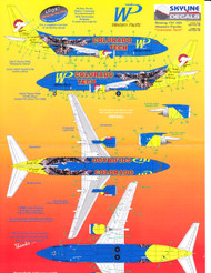 1/144 Scale Decal Western Pacific 737-300 COLORADO TECH