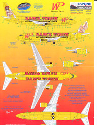 1/144 Scale Decal Western Pacific 737-300 SAM'S TOWN