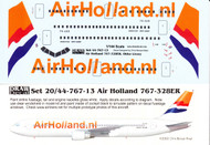 1/144 Scale Decal Air Holland 767-300ER