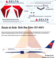 1/144 Scale Decal Delta 767-400