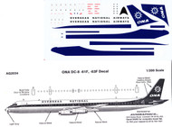 1/200 Scale Decal ONA DC8-61 / 63