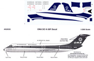 1/200 Scale Decal ONA DC9-30