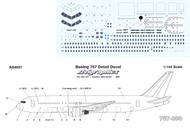 1/144 Scale Decal Detail Sheet 767