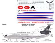 1/144 Scale Decal Yugoslav DC10-30