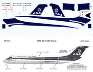 1/144 Scale Decal ONA DC9-30