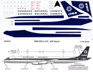 1/144 Scale Decal ONA DC8-61F / 63F